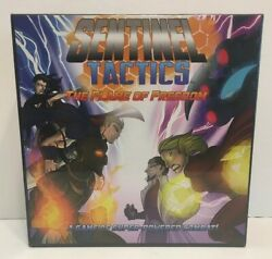 Sentinel Tactics The Flame Of Freedom Board Game Sentinel Comics New And Sealed