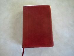 New Scofield Reference Edition Holy Bible Red Letter 1967 Kjv Oxford Burgundy