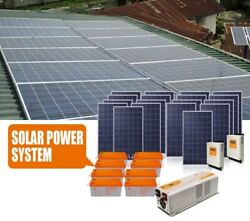 3.5KVA 110VAC/220VAC Solar panel off grid energy system Free electricity