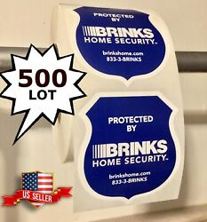 Wholesale Home Store Security Alarm Window Warning Stickers Decals Signs 500 Lot