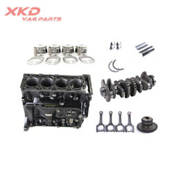 Engine Block Assemblyandcon Rods Andpiston Ring Kit Fit For Audi A4 A5 A6 A8 Q3 Q5