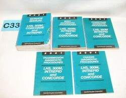 2001 LHS 300M Concorde Intrepid Factory Service Manual Set USED CONDITION #C33