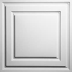 40 Tiles - Ceilume Stratford - 2and039 X 2and039 - White - Free Shipping