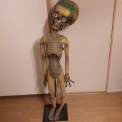 Vintage 1998 Mars Attack Life Size Alien Figure From France With Stand Rare C