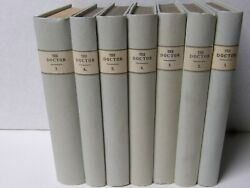 The Doctor Robert Southey 7 Volumes Hardcovers Signed 1834 London Rare