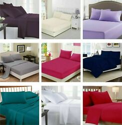 500tc 100egyptian Cotton Sheet Set/fitted Rv Camper Short Queen Size 60x75