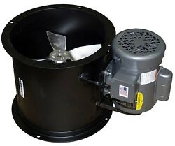 Spray Booth Fan- 18 Tube Axial - 3,090 Cfm - 1 Phase Motor Made In The Usa