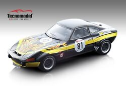 Opel Gt 1900 81 22nd 500 Km Nurburgring 1971 G. Schuler / D. Frohlich 118