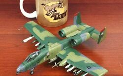 Hobby Master Limited Edition A-10a Playtime 1/72 Diecast Plane Model Aircraft