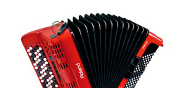 Accordion Roland FR-1Xb RD Red BAG-FR1 Charger set solo performance