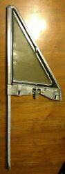 1975 Fiat Spider - Right Wing Window Frame And Track Assembly - No Lock - Used