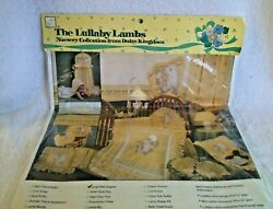 Vintage 'the Lullaby Lambs' Large Wall Graphic Panel - Daisy Kingdom