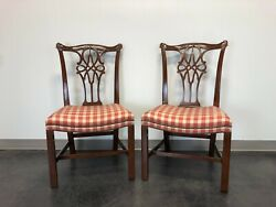 Baker Stately Homes George Iii Dining Side Chairs - Pair 1