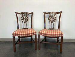 Baker Stately Homes George Iii Dining Side Chairs - Pair 2