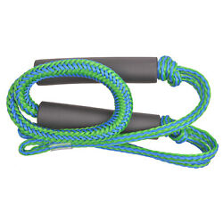 Bungee Dock Lines 3/8x4ft 4000lbs Tensile 12 Loop With Floats For Boat Fishing