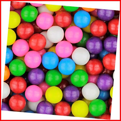 Gumballs For Gumball Machines Refills Bubble Gum 0.56 1 Lb Mini Assorted In For