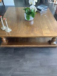 Restoration Hardware Square Table 60 By 60