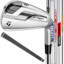 Taylormade P790 Ti Custom Irons - Pick Your Steel Shaft New 2019