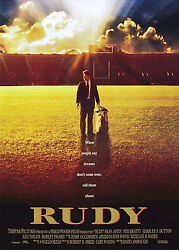 Rudy 1993 Original Movie Poster - Rolled - Double-sided
