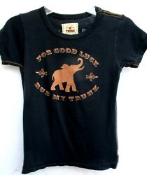 TRUNK LTD..GOOD LUCK ELEPHANT..T-SHIRT...NWT..CHILD sz 6X7