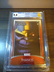 💥 Thanos 13 Cgc 9.8 Trading Card Variant 1st Appearance Cosmic Ghost Rider 💥
