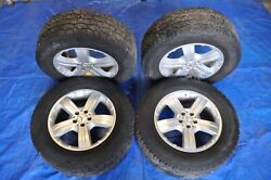 2007 Mercedes-benz Gl450 X164 1 Complete Set Of 4 Wheels And Tires 8jx18 Oem