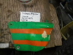 Suzuki Pe 250 1978 Ahrma Right Side Number Plate Right Side Cover