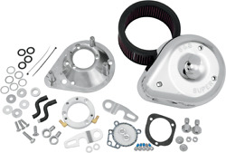 S And S Cycle Teardrop Air Cleaner Kit - Stock Cv And Efi For Harley 17-0448