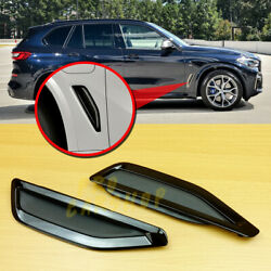 M-performance For Bmw X5 G05 2019+ Shiny Black Replace Side Vent Fender Cover