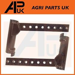 Pair Half Front Axle Spindle Arm Lh/rh For Massey Ferguson 275 282 283 Tractor