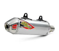 Pro Circuit T-6 Stainless Slip-on Silencer No Spark Arrestor 0151625a