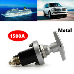 1500a Boat Car Rv Battery Isolator Disconnect Cut Off Metal Switch Power Marine