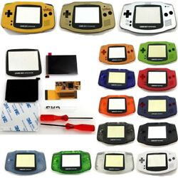 10 Levels Backlight V2 Ips Screen Lcd Kits W/pre-cut Shell Case For Gba Console