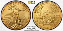 2008-W 1/4 oz. $10 Burnished Gold American Eagle PCGS SP70 Gold Shield