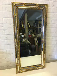 Possibly Vintage Gold Mirror From Lammerts St. Louis Mo