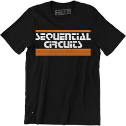 Sequential Circuits Shirt Retro Synth Men's T-shirt Tee Music Band Producer Gift