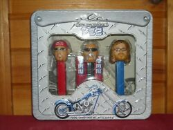 Nib 2006 Pez Occ Orange County Choppers Limited Edition Collector's Tin Set