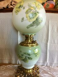 Original Gwtw Oil Lamp 23 Consolidated Co. W/ Wick Nice