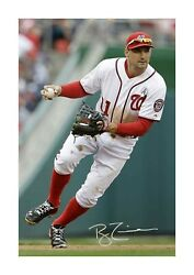Ryan Zimmerman 2 Washington Nationals A4 Signed Poster Choice Of Frame