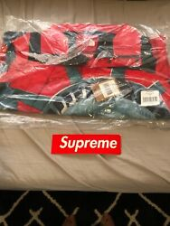 Supreme X The Statue Of Liberty Mountain Jacket Red Small In Hand Nwt