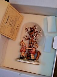 Hummel 635 Welcome Spring Century Collection Figurine Goebel 1993 Excellent Cond
