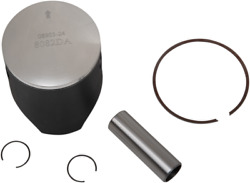 Wossner Lightweight Forged Piston Kit 66.40 Mm W/ Ring Pin And Pin Lock 8082da