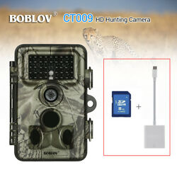 Hunting Scouting Camera 16MP 1920x1080p Time Lapse Home Security W/Camera Reader