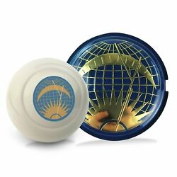 Sun And Moon 2pc Kit - Horn Button And Ivory 12mm Shift Knob Bus Beetle Golf Cox