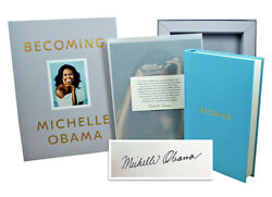 Michelle Obama Becoming Signed Limited First Deluxe Edition Sealed