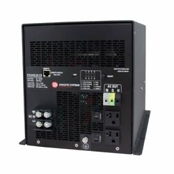 Analytic Systems Ac Intelligent Pure Sine Wave Inverter 2400w 20-40v In 11...