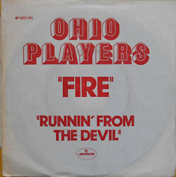Ohio Players Fire 7 French Promo 1974 Ex