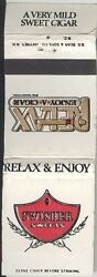 Swisher Sweets Cigar Relax And Enjoy Matchbook Cover