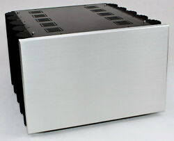 New Power Amplifier Aluminum Chassis Diy Hifi Project Case 425407260mm
