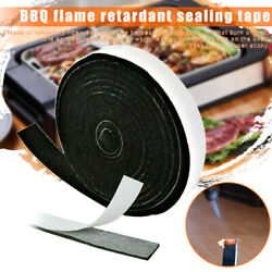 High Heat Barbecue Smoker Gasket Bbq Door Lid Seal Adhesive Self Stick Home New
